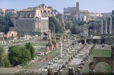 El foro romano-visita virtual